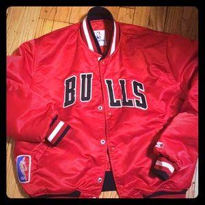 Vintage original BULLS starter jacket